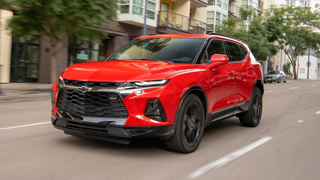2019 Chevrolet Blazer RS Front Three-Quarter Wallpapers (10)