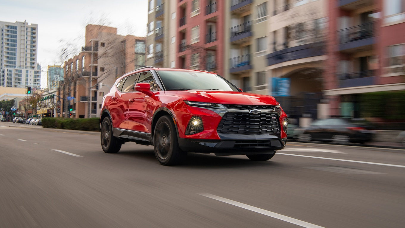 2019 Chevrolet Blazer RS Front Three-Quarter Wallpapers (7)