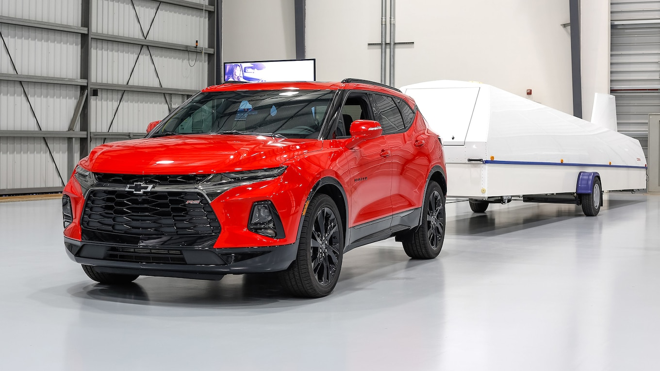 2019 Chevrolet Blazer RS Front Wallpapers (15)