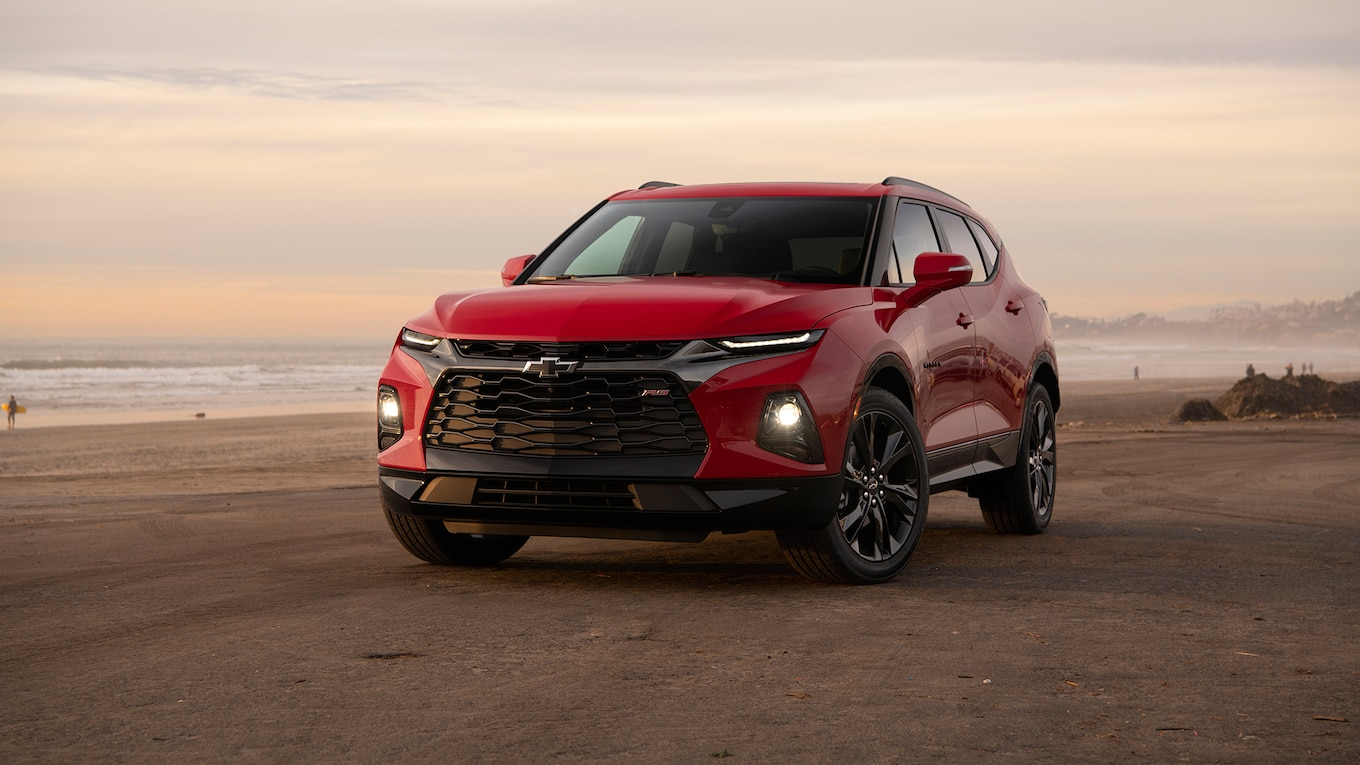 2019 Chevrolet Blazer RS Front Wallpapers (9)