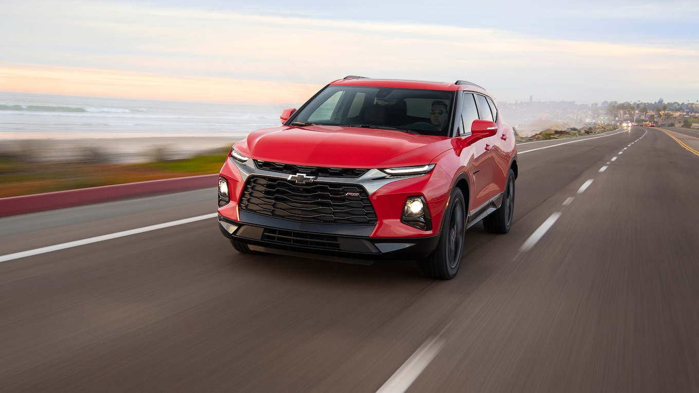 2019 Chevrolet Blazer RS Front Wallpapers (1)