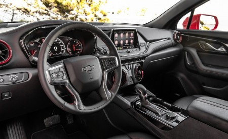 2019 Chevrolet Blazer RS Interior Wallpaper 450x275 (44)