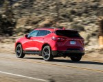 2019 Chevrolet Blazer RS Rear Three-Quarter Wallpapers 150x120 (6)