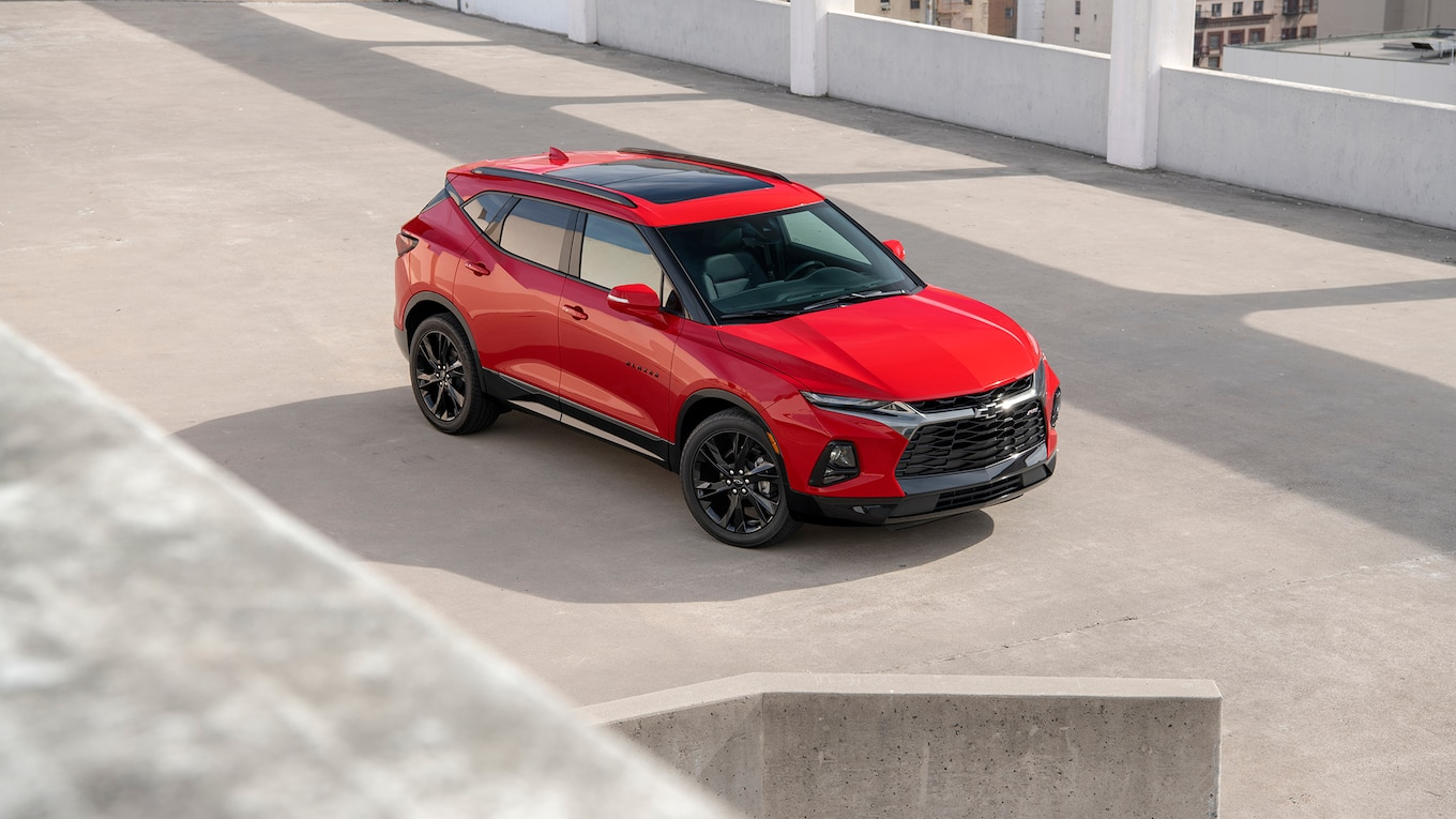 2019 Chevrolet Blazer RS Top Wallpapers (8)