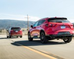2019 Chevrolet Blazer RS vs 2019 Ford Edge Titanium Rear Three-Quarter Wallpapers 150x120 (4)