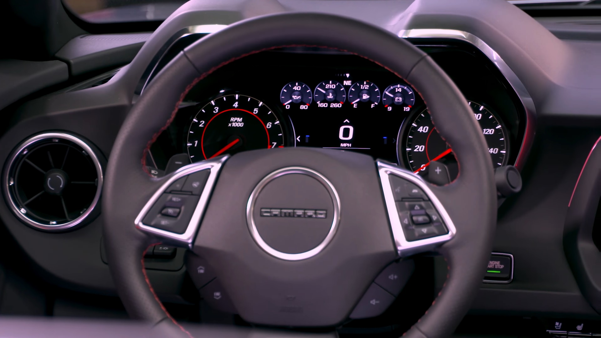 2019 Chevrolet Camaro Ss Coupe Interior Steering Wheel Wallpaper
