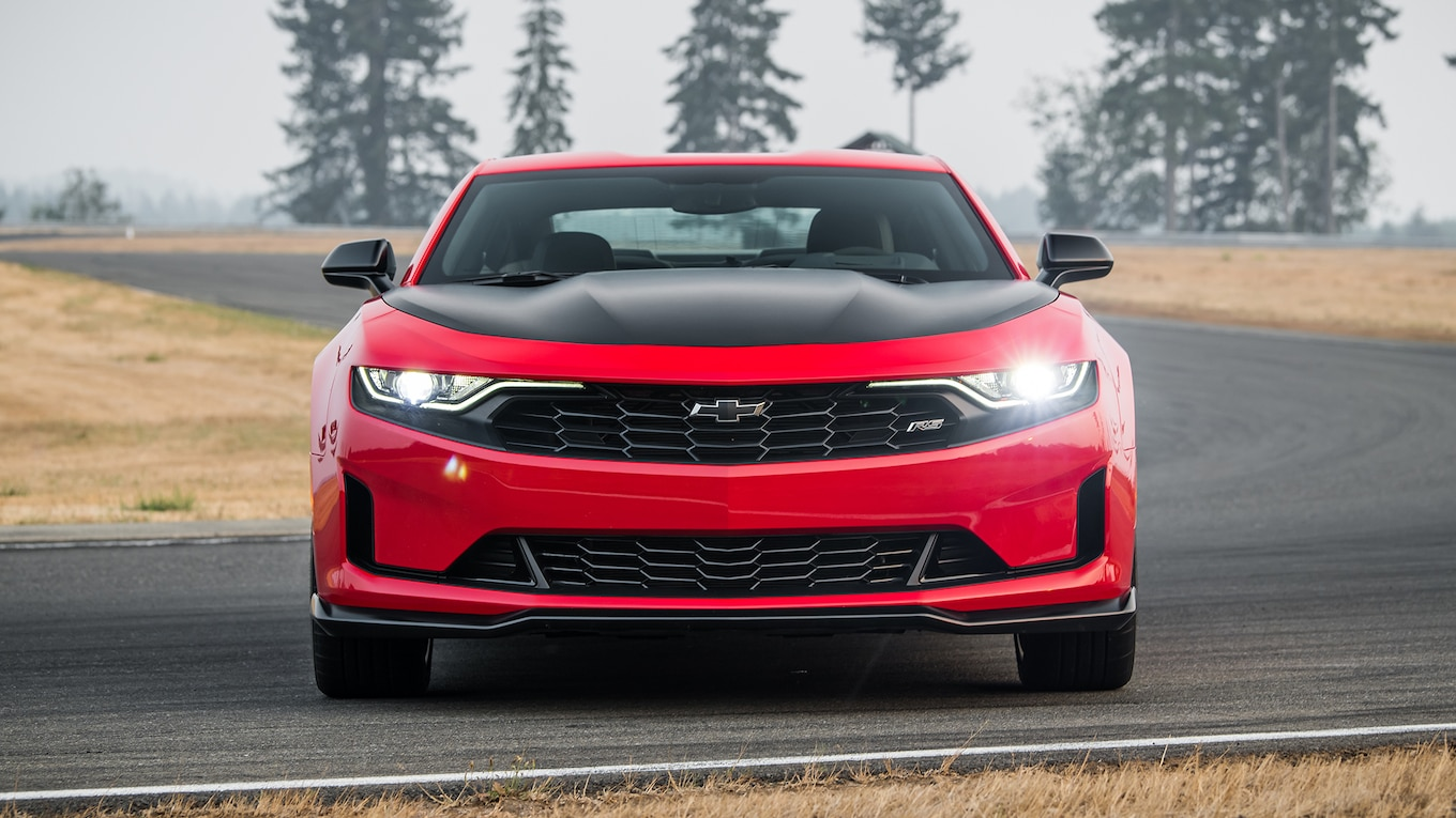 2019 Chevrolet Camaro Turbo 1LE Front Wallpapers (10)