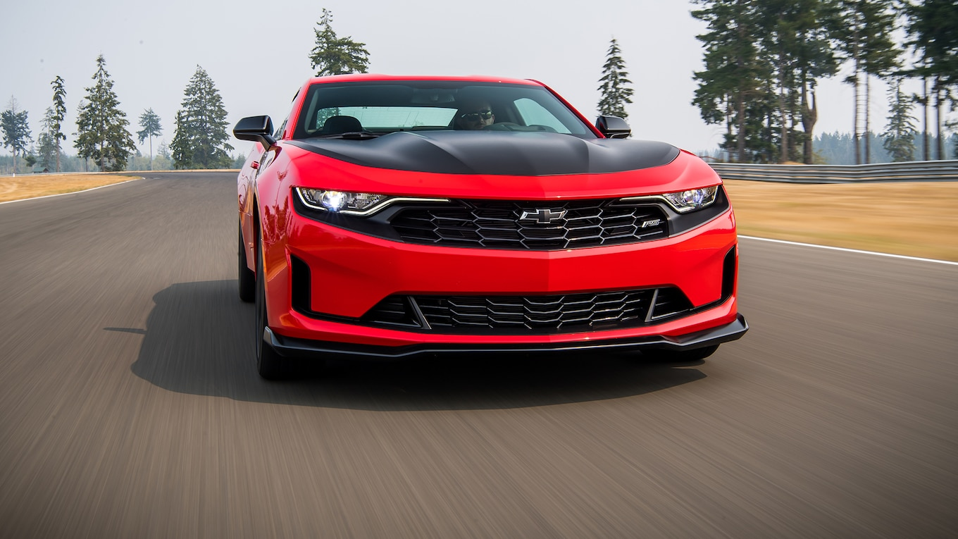 2019 Chevrolet Camaro Turbo 1LE Front Wallpapers (1)