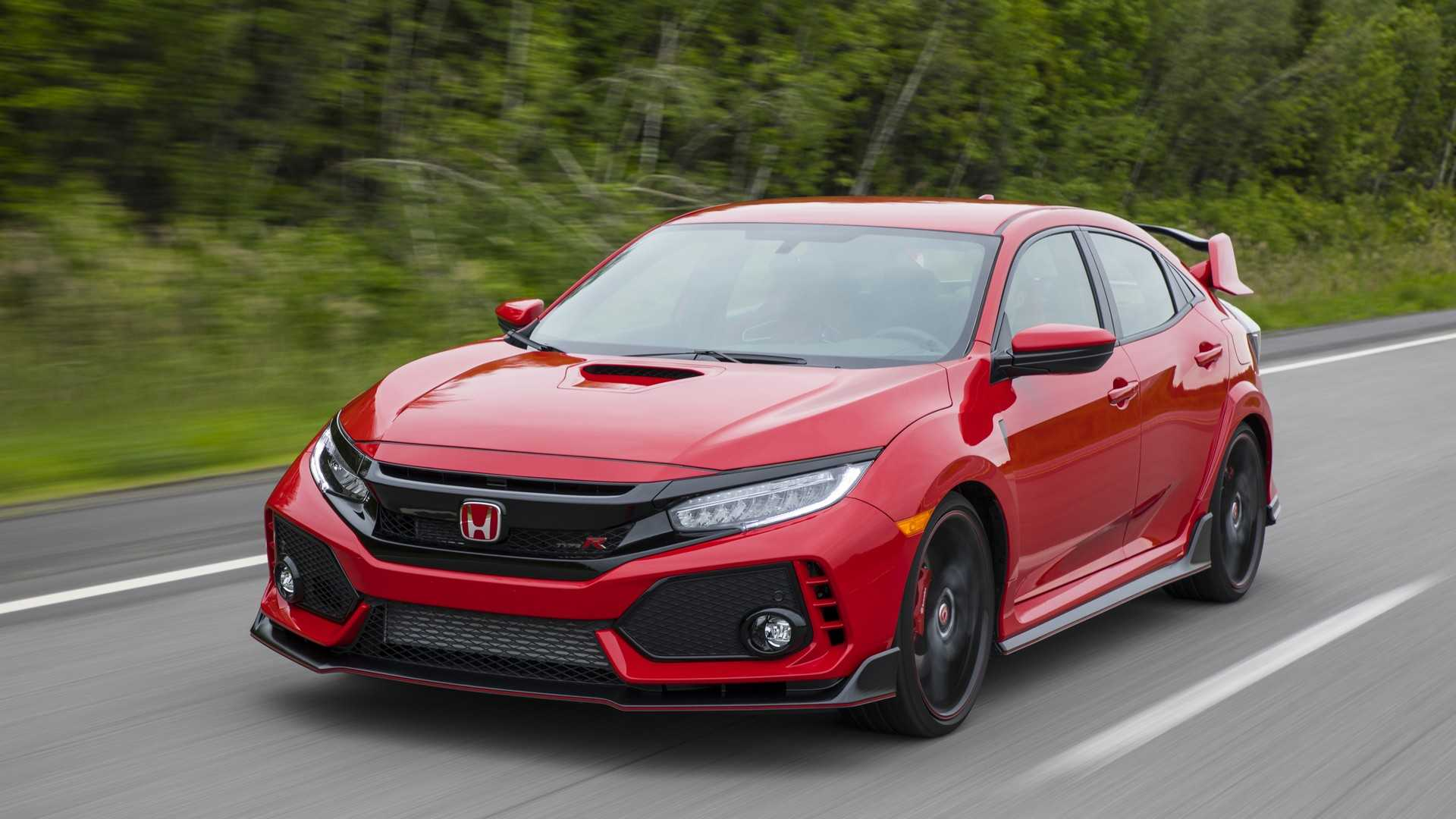 2019 Honda Civic Type R (Color: Rallye Red) Front Three-Quarter Wallpapers (3)