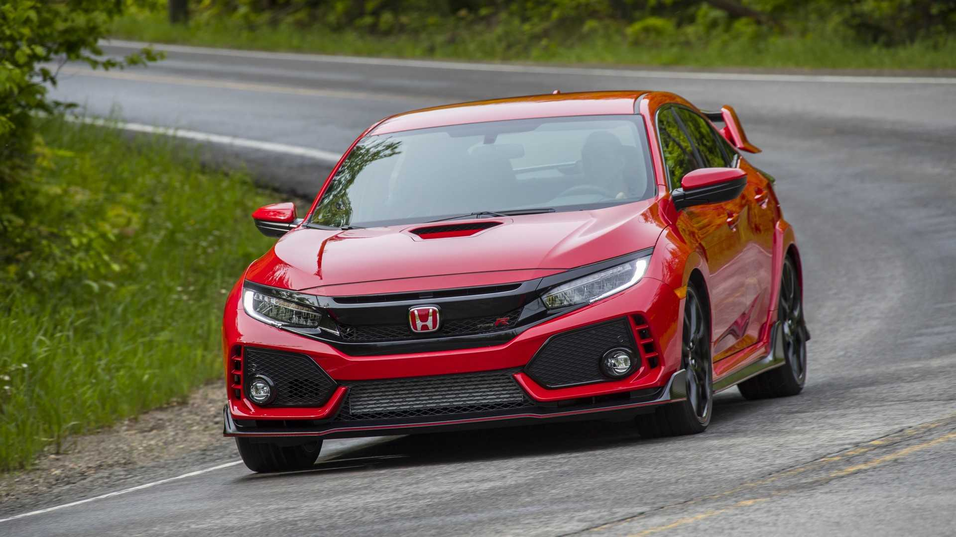 2019 Honda Civic Type R (Color: Rallye Red) Front Wallpapers (10)