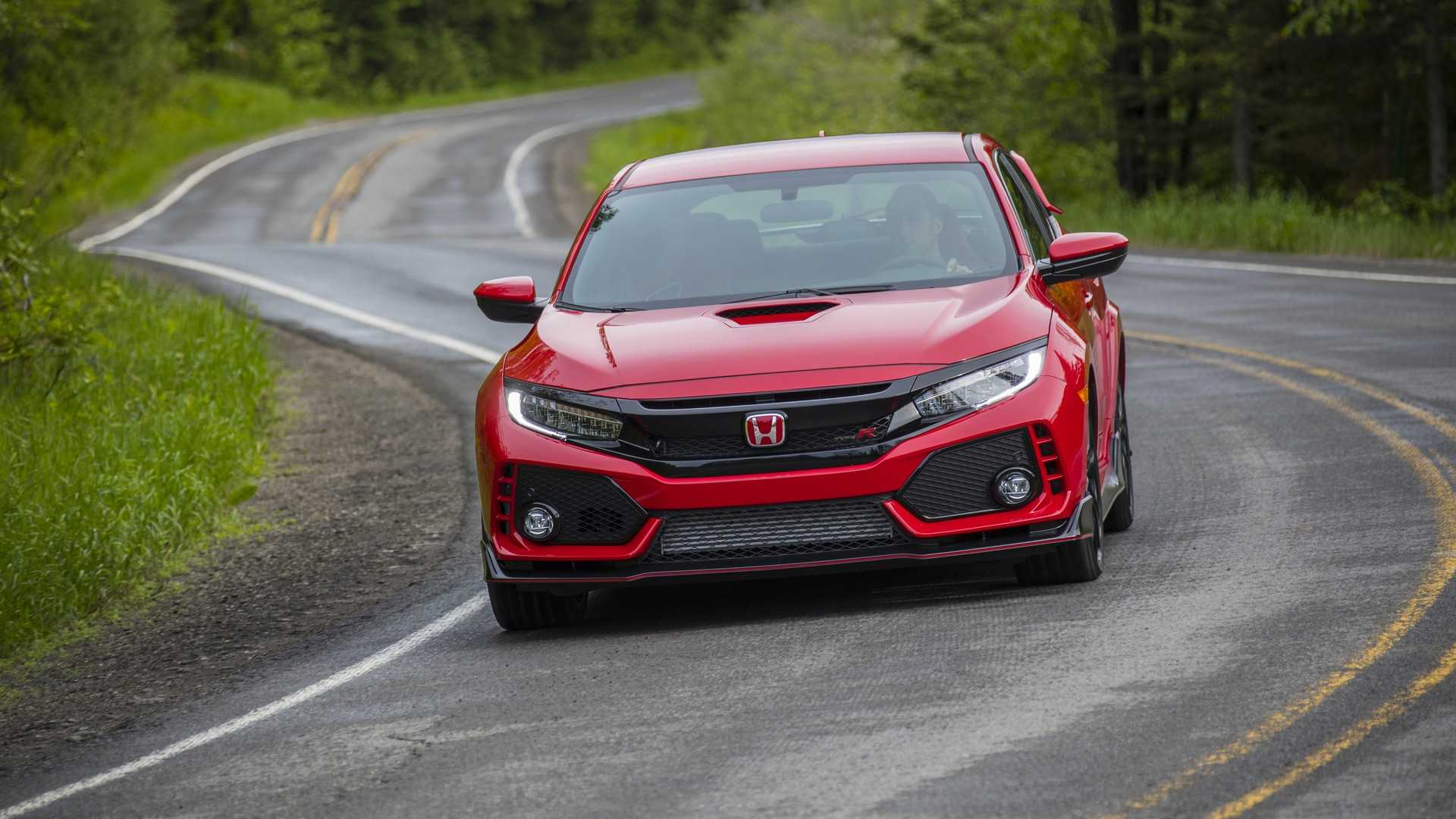 2019 Honda Civic Type R (Color: Rallye Red) Front Wallpapers (5)