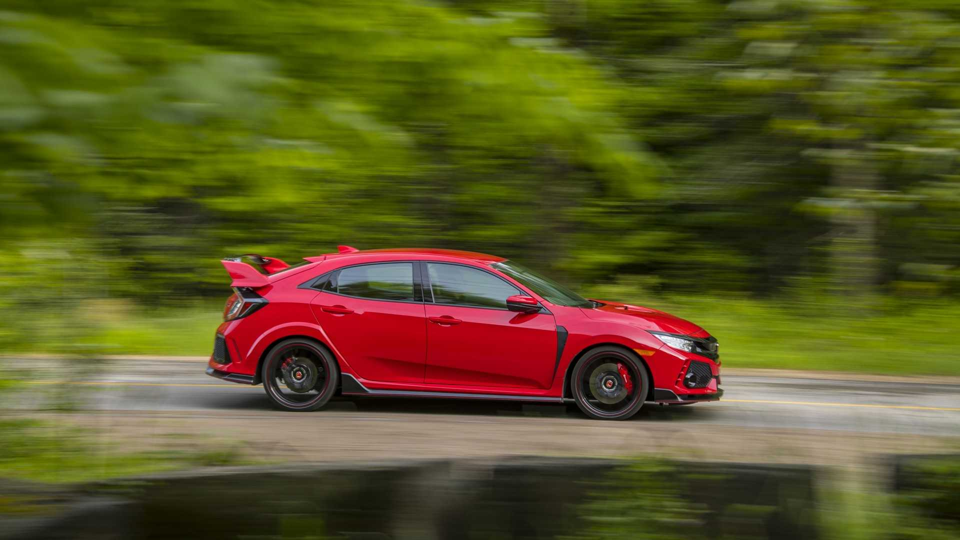 2019 Honda Civic Type R (Color: Rallye Red) Side Wallpaper (6)