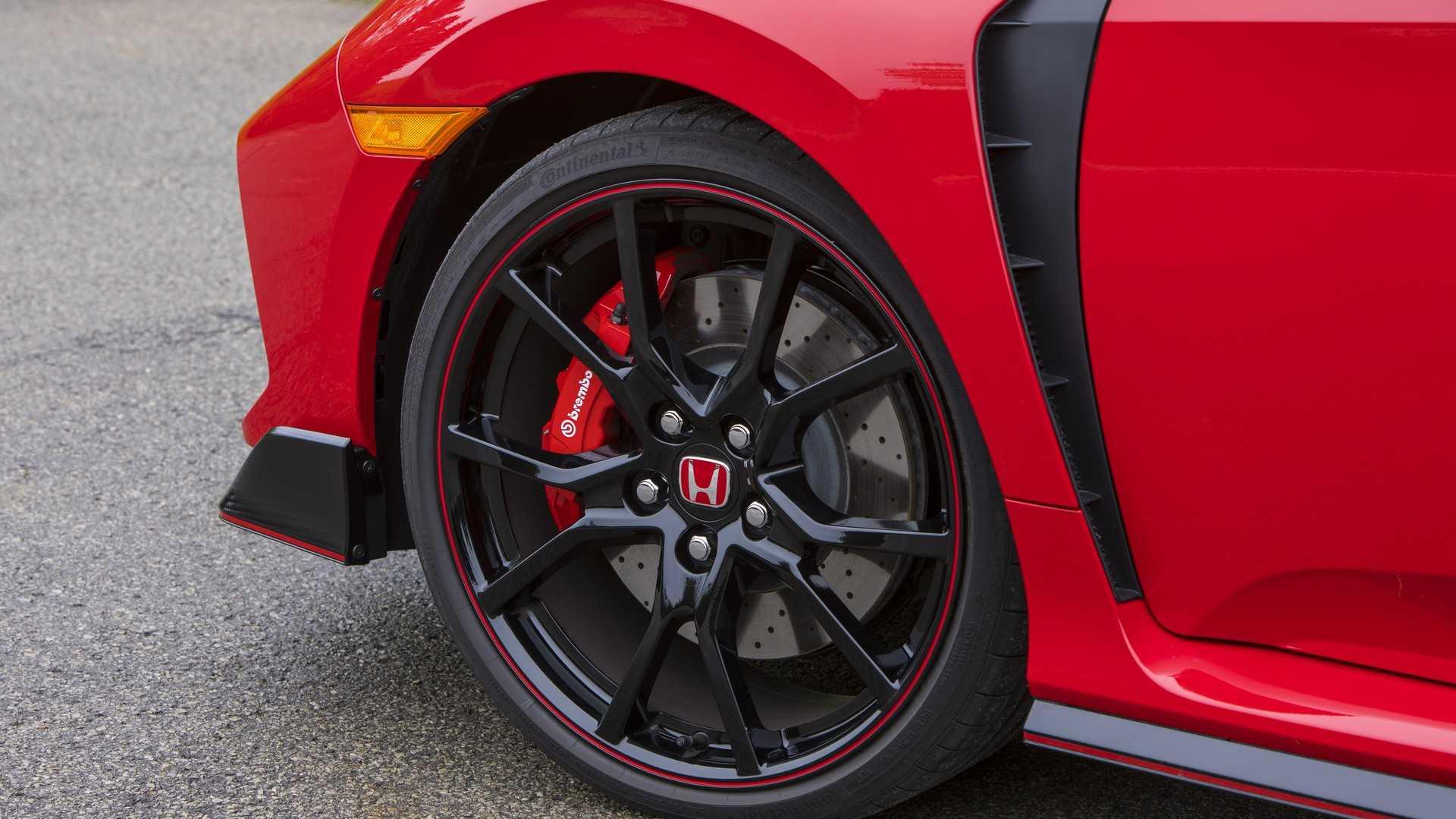 2019 Honda Civic Type R (Color: Rallye Red) Wheel Wallpapers