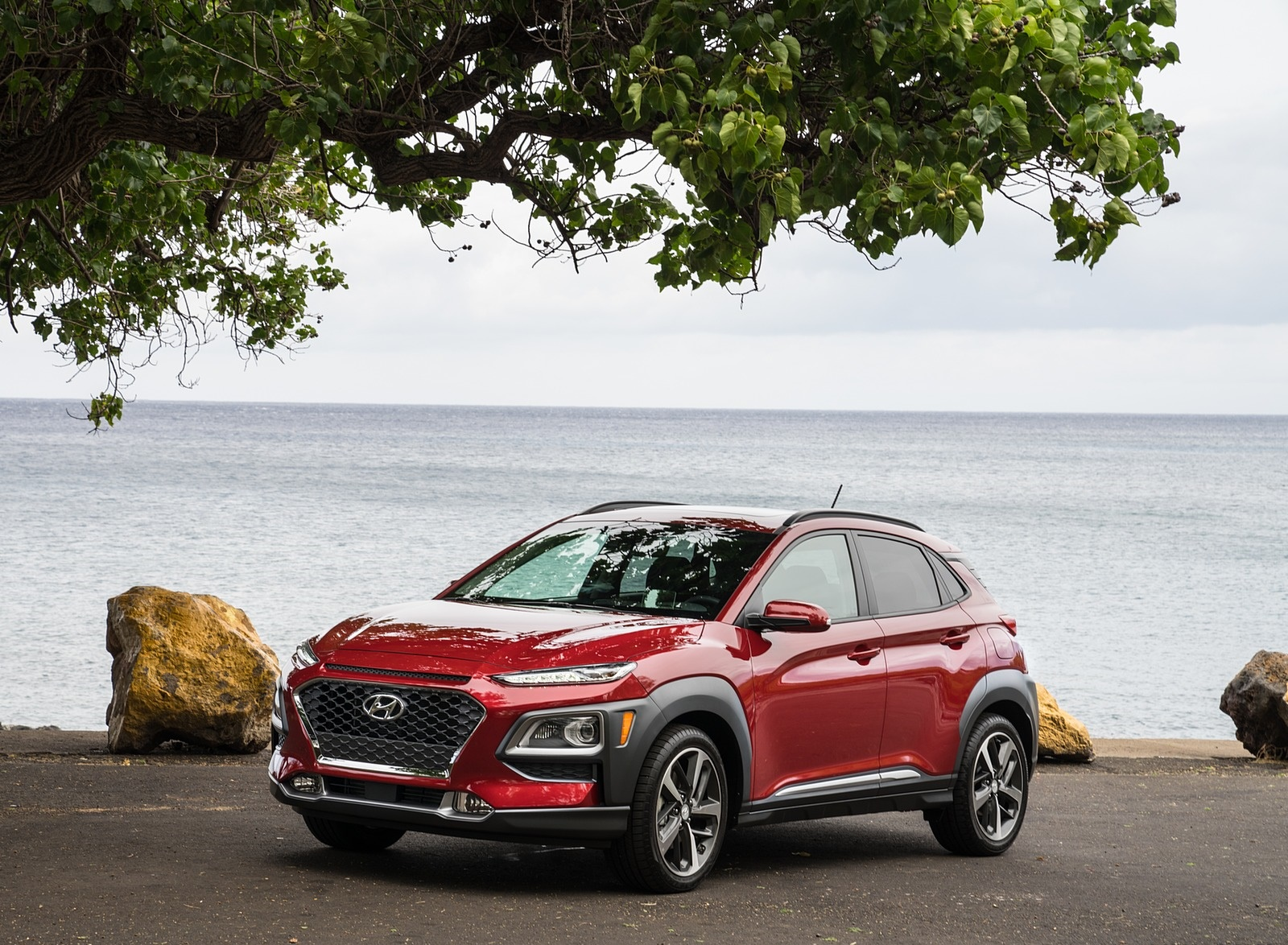 2019 Hyundai Kona Front Three-Quarter Wallpaper (3)