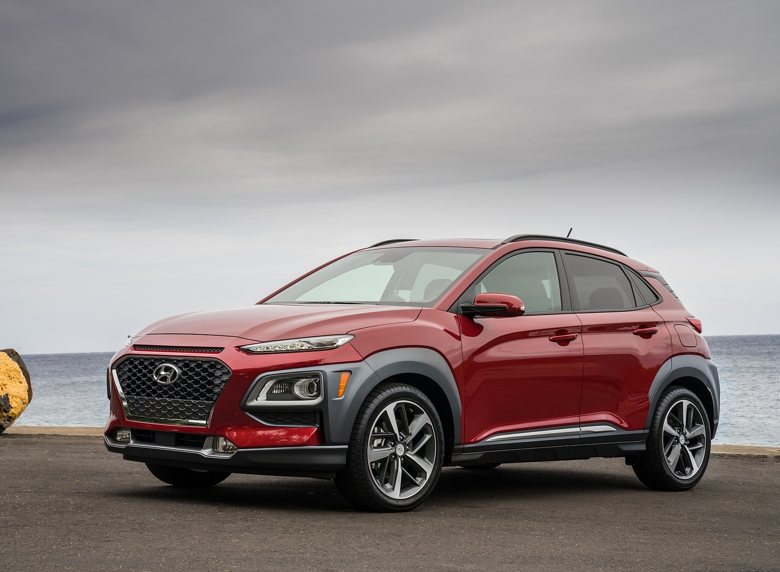 2019 Hyundai Kona Front Three-Quarter Wallpaper (11)