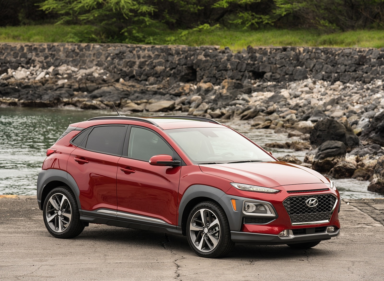 2019 Hyundai Kona Front Three-Quarter Wallpaper (5)