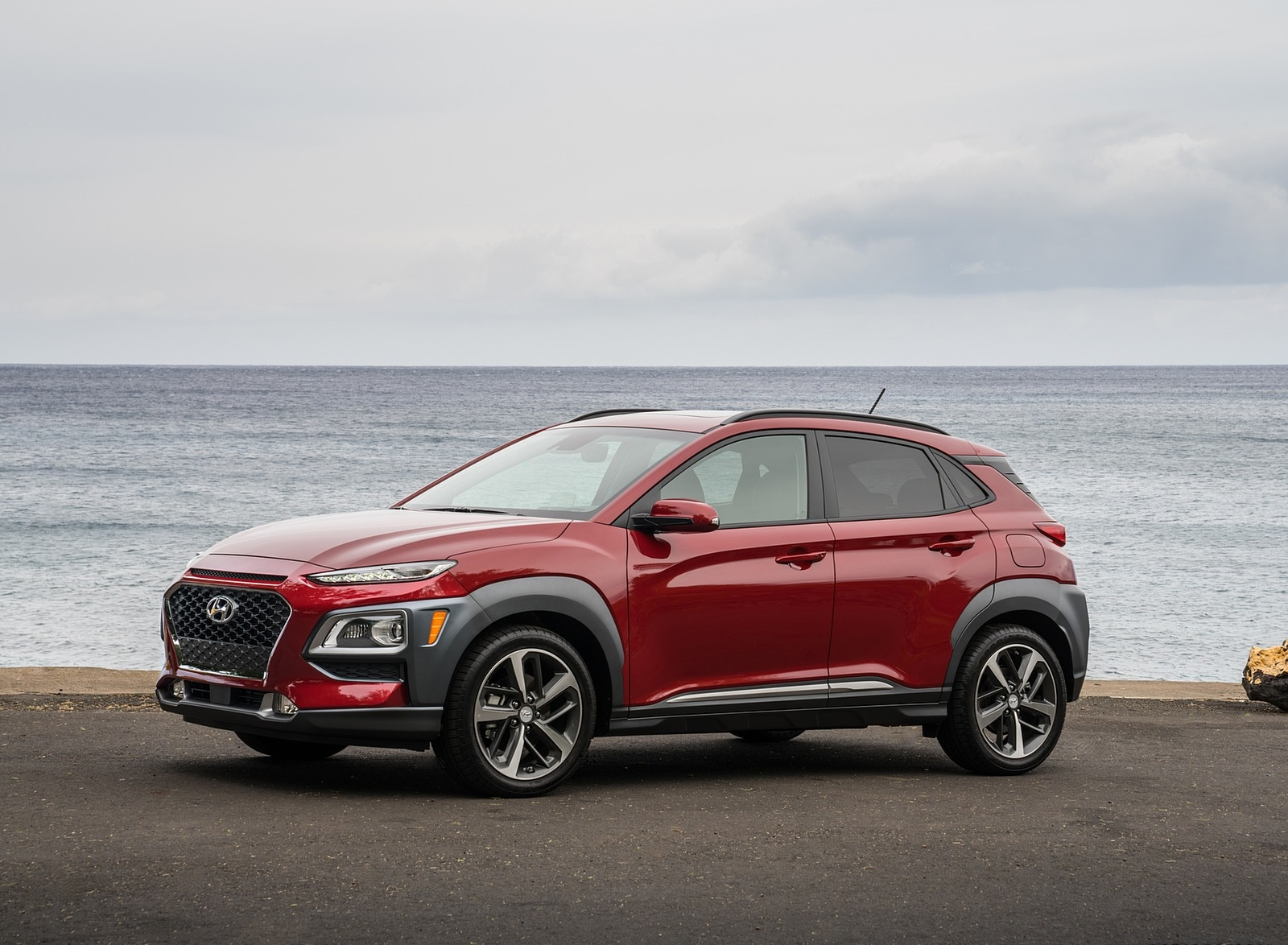 2019 Hyundai Kona Front Three-Quarter Wallpaper (14)