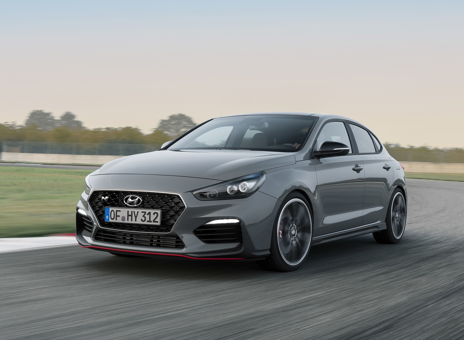 2019 Hyundai i30 Fastback N Front Three-Quarter Wallpapers (1)