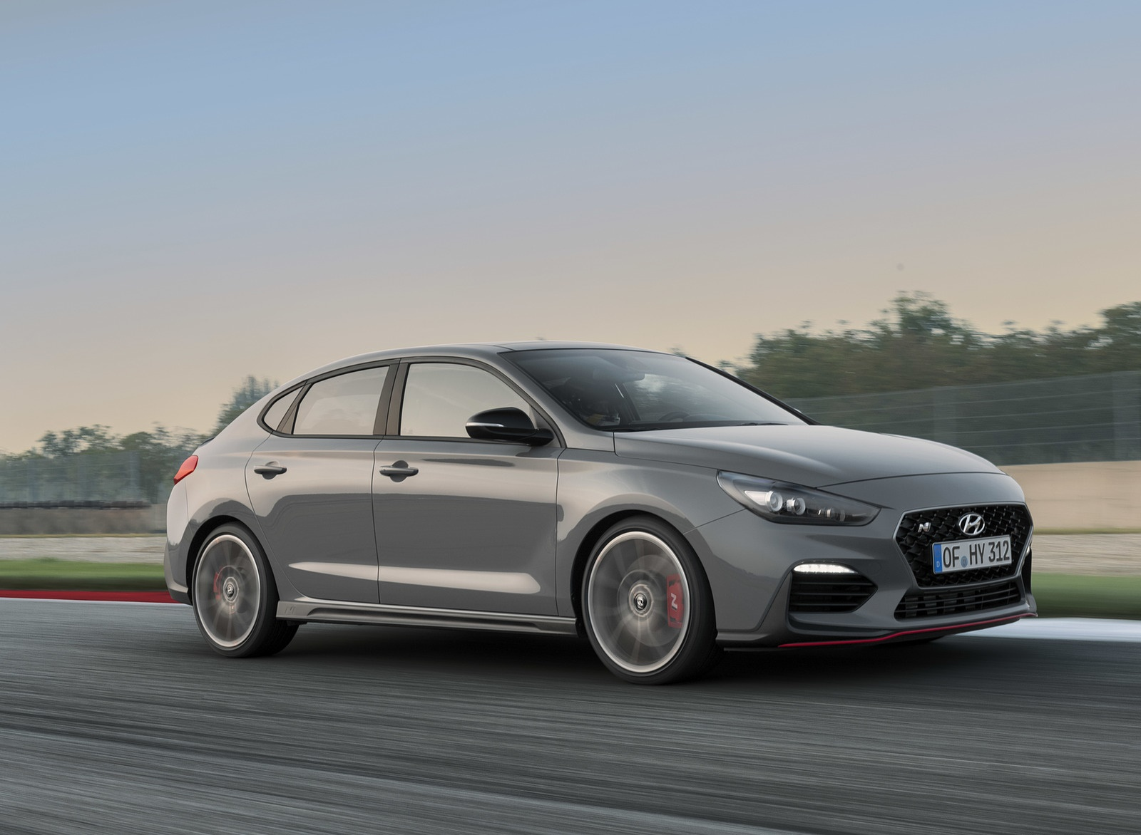 2019 Hyundai i30 Fastback N Front Three-Quarter Wallpapers (2)