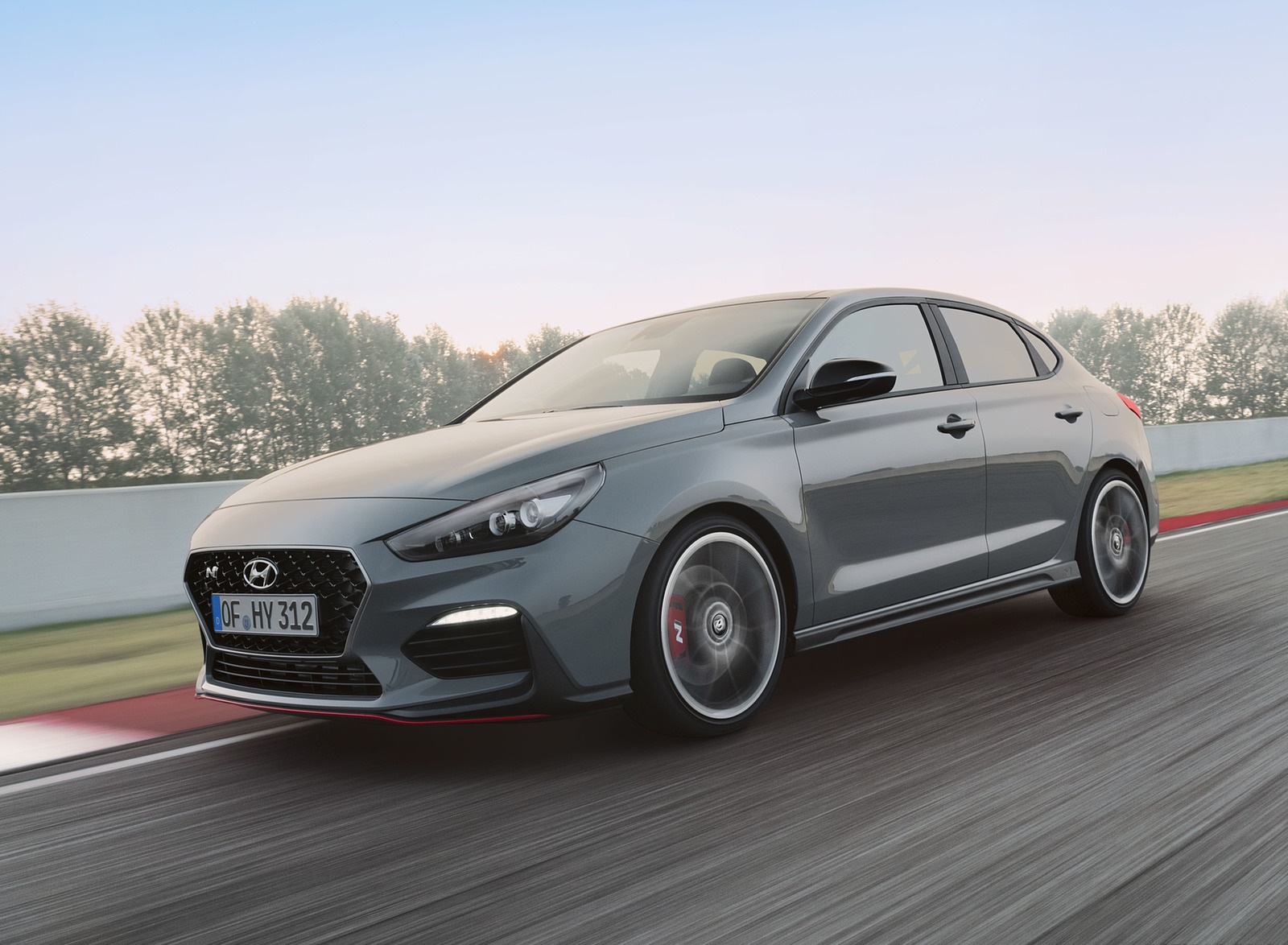 2019 Hyundai i30 Fastback N Front Three-Quarter Wallpapers (3)