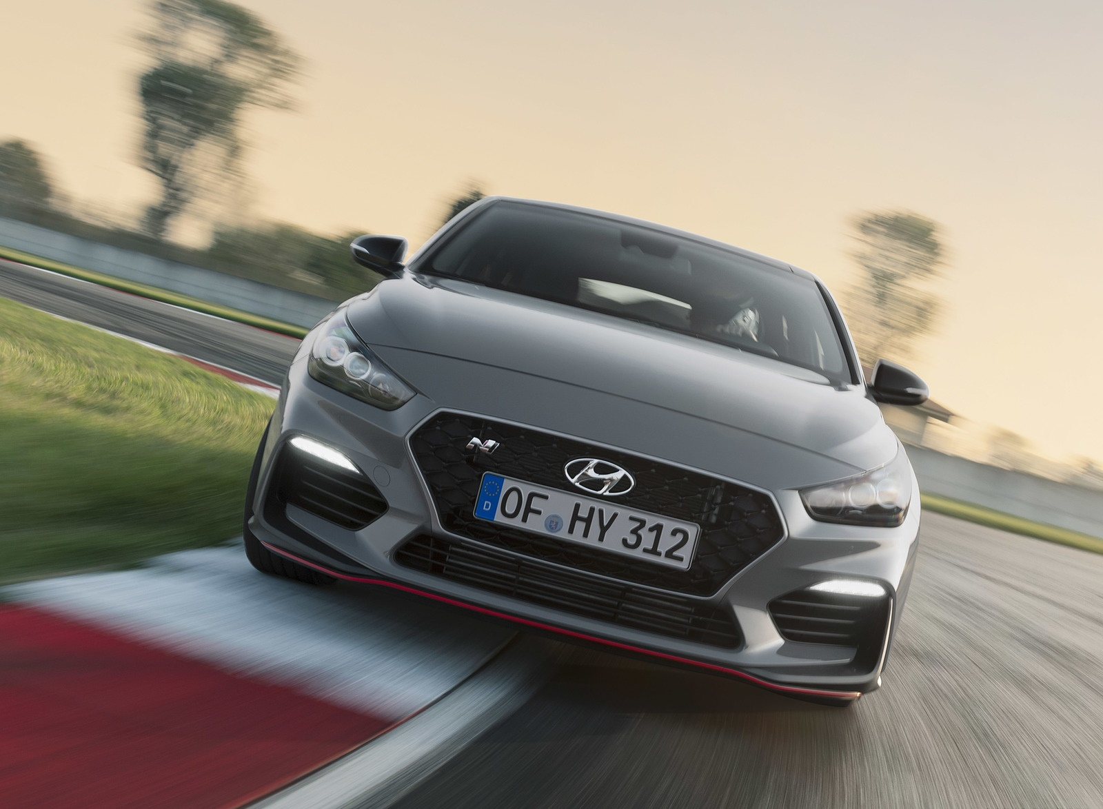 2019 Hyundai i30 Fastback N Front Wallpapers (9)