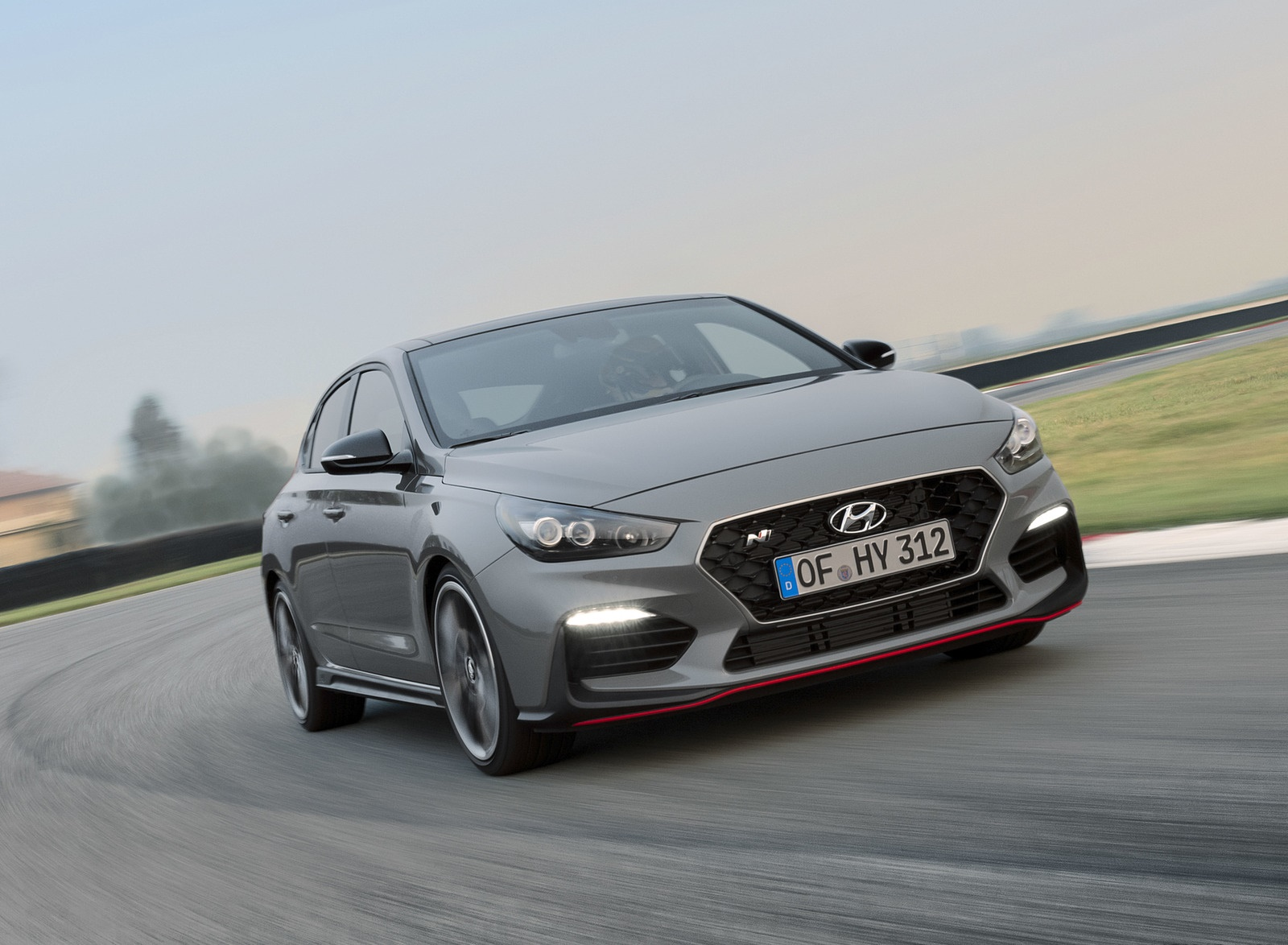 2019 Hyundai i30 Fastback N Front Wallpapers (4)