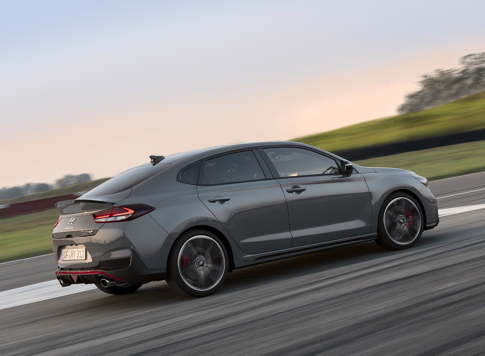 2019 Hyundai i30 Fastback N Rear Three-Quarter Wallpapers (10)
