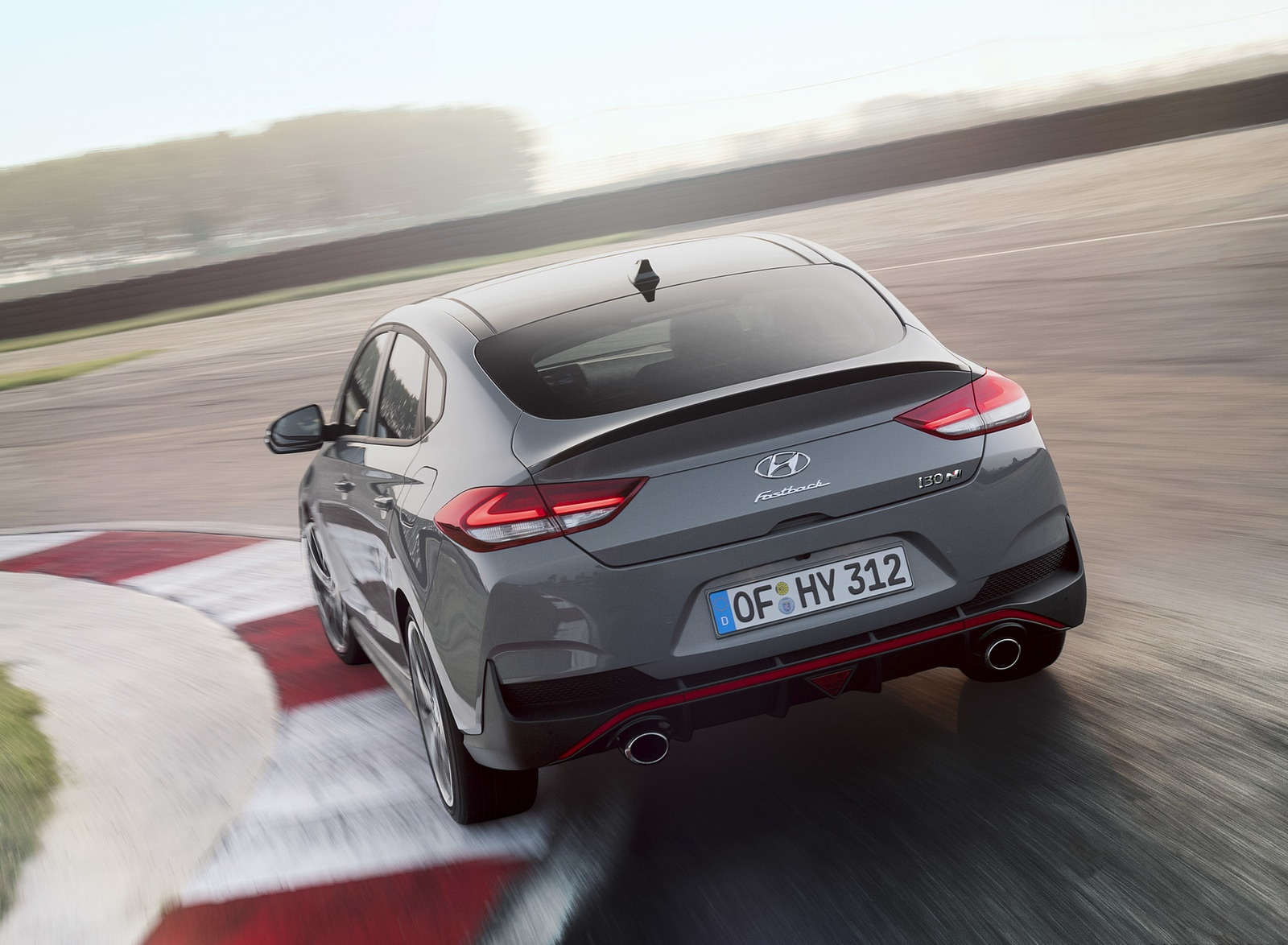 2019 Hyundai i30 Fastback N Rear Three-Quarter Wallpapers (6)