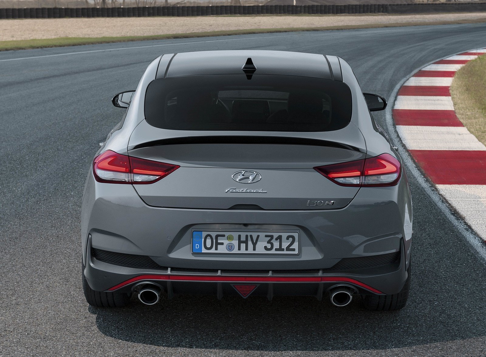 2019 Hyundai i30 Fastback N Rear Wallpapers (7)