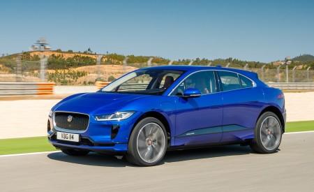 2019 Jaguar I-PACE (Color: Cesium Blue) Front Three-Quarter Wallpapers 450x275 (115)