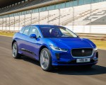 2019 Jaguar I-PACE (Color: Cesium Blue) Front Three-Quarter Wallpapers 150x120