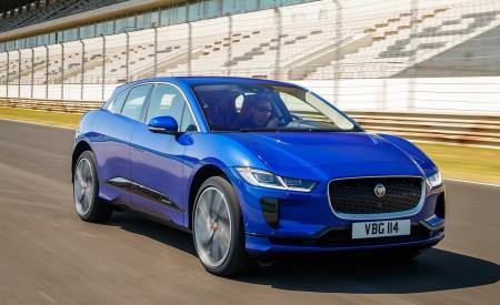 2019 Jaguar I-PACE (Color: Cesium Blue) Front Three-Quarter Wallpapers 450x275 (116)