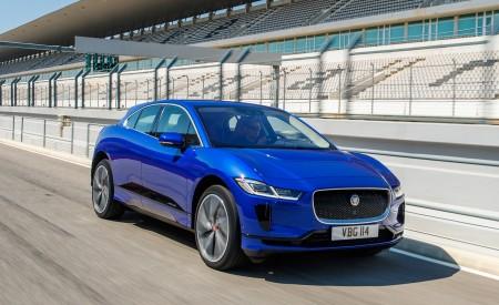 2019 Jaguar I-PACE (Color: Cesium Blue) Front Three-Quarter Wallpapers 450x275 (117)