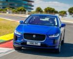 2019 Jaguar I-PACE (Color: Cesium Blue) Front Wallpapers 150x120