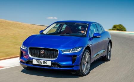 2019 Jaguar I-PACE (Color: Cesium Blue) Front Wallpapers 450x275 (119)