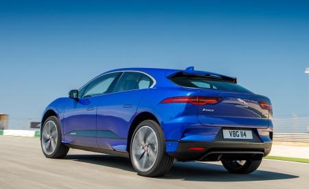 2019 Jaguar I-PACE (Color: Cesium Blue) Rear Three-Quarter Wallpapers 450x275 (122)