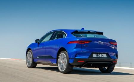 2019 Jaguar I-PACE (Color: Cesium Blue) Rear Three-Quarter Wallpapers 450x275 (123)
