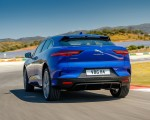 2019 Jaguar I-PACE (Color: Cesium Blue) Rear Wallpapers 150x120
