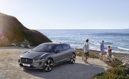 2019 Jaguar I-PACE (Color: Corris Grey) Front Three-Quarter Wallpapers 450x275 (109)
