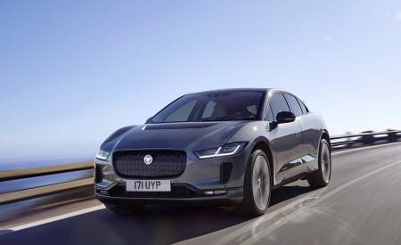 2019 Jaguar I-PACE (Color: Corris Grey) Front Three-Quarter Wallpapers 450x275 (97)