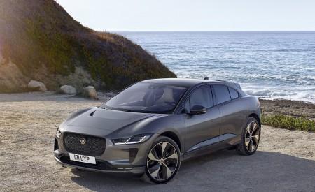 2019 Jaguar I-PACE (Color: Corris Grey) Front Three-Quarter Wallpapers 450x275 (110)