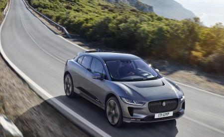 2019 Jaguar I-PACE (Color: Corris Grey) Front Three-Quarter Wallpapers 450x275 (99)