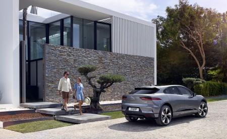 2019 Jaguar I-PACE (Color: Corris Grey) Rear Three-Quarter Wallpapers 450x275 (113)