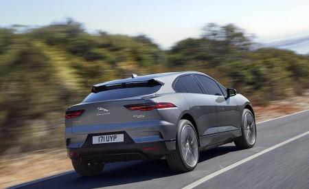 2019 Jaguar I-PACE (Color: Corris Grey) Rear Three-Quarter Wallpapers 450x275 (102)