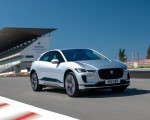 2019 Jaguar I-PACE (Color: Indus Silver) Front Three-Quarter Wallpapers 150x120