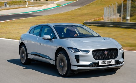 2019 Jaguar I-PACE (Color: Indus Silver) Front Three-Quarter Wallpapers 450x275 (143)