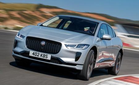 2019 Jaguar I-PACE (Color: Indus Silver) Front Wallpapers 450x275 (146)