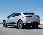 2019 Jaguar I-PACE (Color: Indus Silver) Rear Three-Quarter Wallpapers 150x120