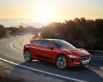 2019 Jaguar I-PACE (Color: Photon Red) Front Three-Quarter Wallpapers 150x120