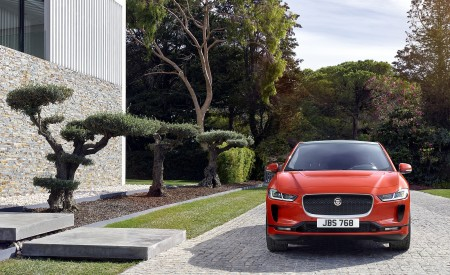 2019 Jaguar I-PACE (Color: Photon Red) Front Wallpapers 450x275 (89)
